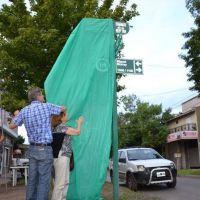 Merlo: Señalizaron una esquina para homenajear a Silvia Paolucci, desaparecida durante la última dictadura