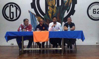 """Hugo Moyano en la UOM Morón: """"Esto no se soluciona sólo con resistencia"""""""