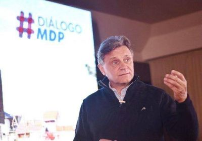 """El candidato de AM, Gustavo Pulti lanzó """"Diálogo para activar Mar Del Plata"""""""