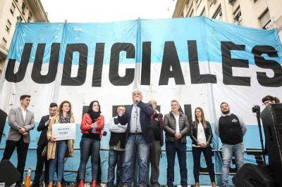 Los judiciales cierran abril con dos paros nacionales