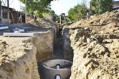 El Gobierno intima a la empresa Dyga por el atraso de la obra cloacal en Caucete