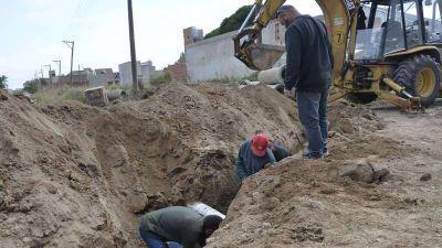 Servicios Públicos: Efectuaron arreglo de pluviales, hormigonado y mantenimiento de calles