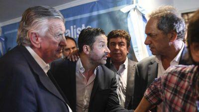 Cumbre de Scioli con intendentes: