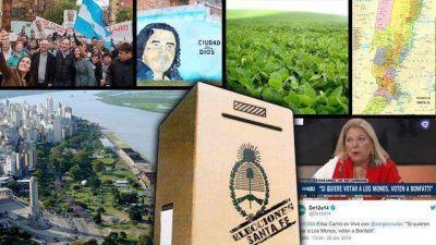 Vota Santa Fe, tras una campaña que mezcló crisis, narcotráfico y resurgimiento peronista