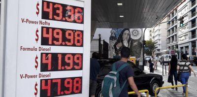 Petroleras estiman la suba de nafta rondará entre 3 y 5%