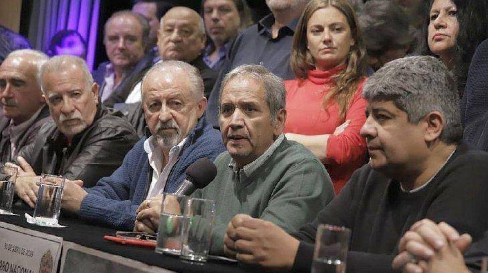 Moyano ya planifica las próximas protestas después de los paros del 30A y 1M