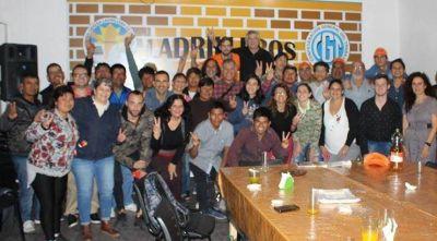 Rotundo triunfo de Luis Cáceres en las elecciones del Sindicato Ladrillero