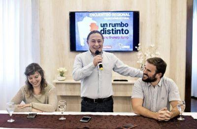 Libres del Sur lanzó sus precandidaturas para la Provincia y la Quinta Sección