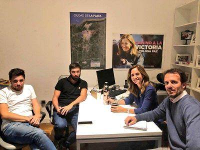 Victoria Tolosa Paz sumó a más sectores del peronismo platense