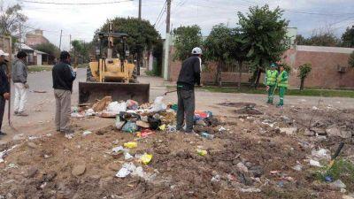 Vecinos denuncian más minibasurales en Resistencia