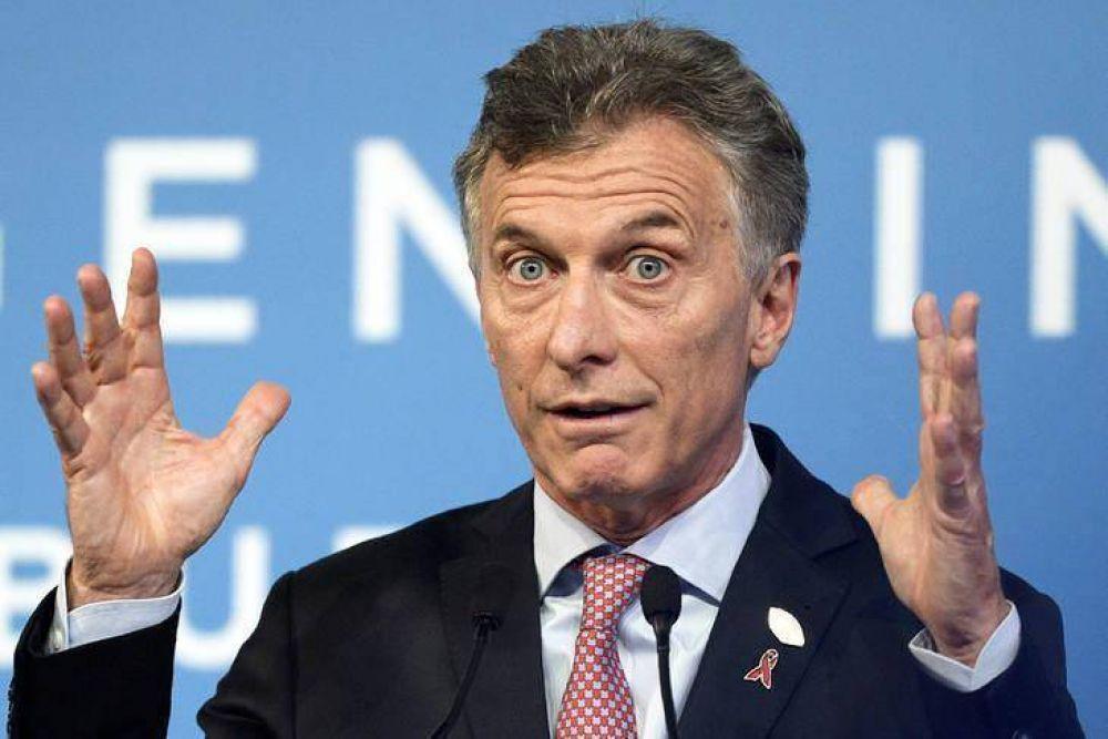 Sin alternativas, Macri provoca una crisis política en Cambiemos