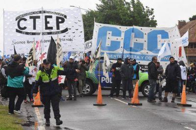 La huelga de este martes incluirá un corte en la ruta 88