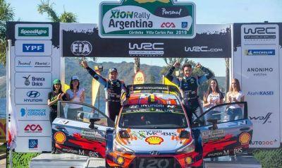 El Equipo Hyundai Shell World Rally Team se consagró campeón en el Rally Argentina 2019