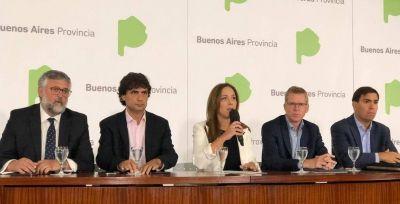 Lejos de las luces de la paritaria docente, Vidal le ofreció 20% en 6 cuotas a los judiciales