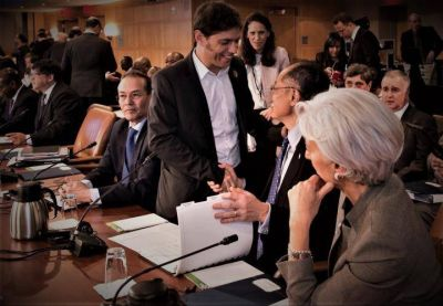 El default no es una opción: el mensaje de Cristina que lleva Kicillof a los think tanks de Washington
