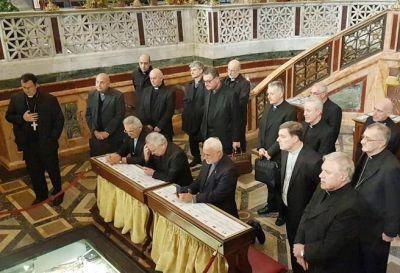 Monseñor Mestre envió un mensaje desde Roma en el marco de la la Visita Ad Limina