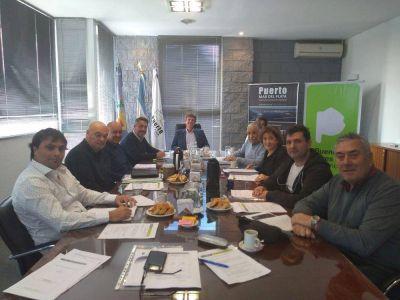 Con tres cambios sesionó el nuevo directorio del Consorcio Portuario de Mar del Plata