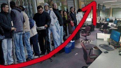 Por la incertidumbre económica, más de la mitad de las empresas planea despidos
