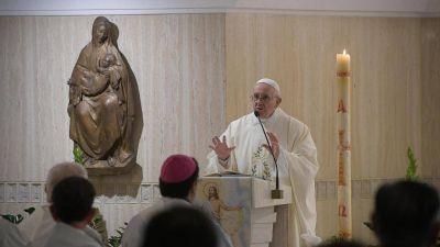 Francisco: se puede renacer solo con la ayuda de Dios