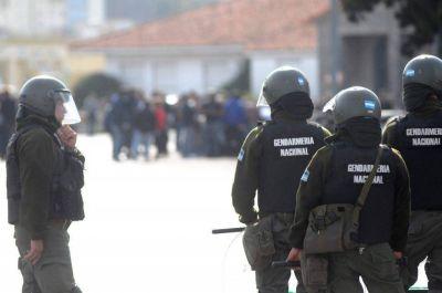 Serán 500 los gendarmes que llegan para reforzar la seguridad en Mar del Plata