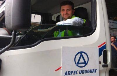 ARPEC incorpora moderno camión cisterna con equipos para filtración de combustible
