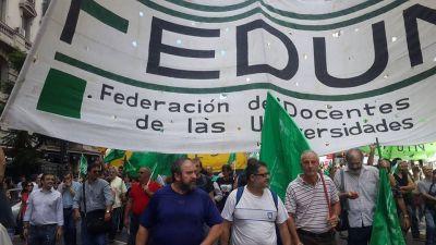 """Universitarios: FEDUN rechazó nuevamente la propuesta paritaria por """"insuficiente"""""""