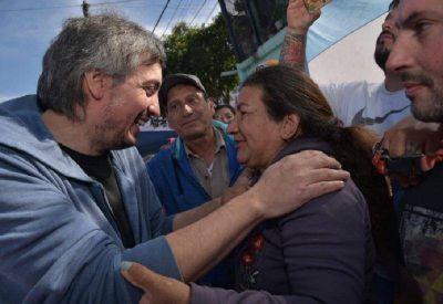 Máximo desembarcó en Quilmes para respaldar la candidatura de Mayra Mendoza