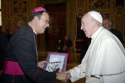 """Mestre con Francisco: """"Fue un momento muy hermoso, muy de fe, espiritual y profundo"""""""