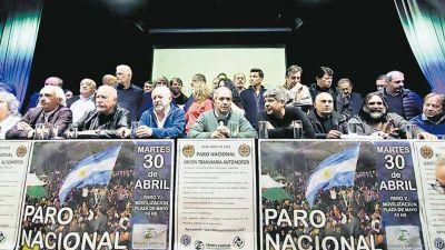 Rechazo total al decálogo de Macri