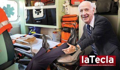 Arranca la ambulancia de Lavagna