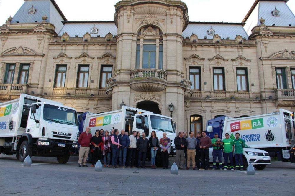 Nuevos camiones y elementos para la limpieza en la ciudad