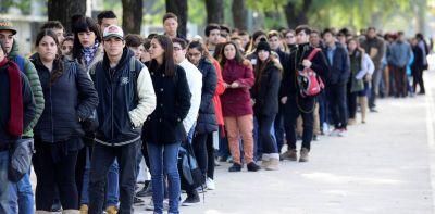 Récord de pedidos del subsidio por desempleo