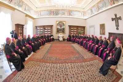 Con una misa por la patria, comenzó otra visita de obispos argentinos al Papa