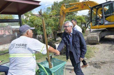 En Tigre Norte, el municipio inició obras hidráulicas que beneficiarán a más de 400 familias