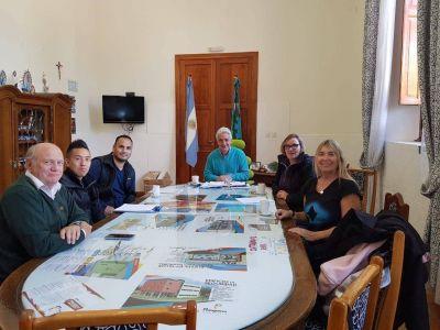 GIRSU: Zara se reunió con referentes Medio Ambiente de la Nación