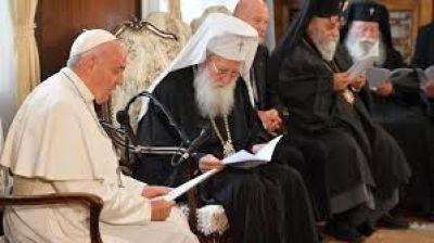 El Papa al Patriarca de Bulgaria: encontrar la alegría del perdón