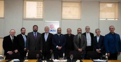 La AMIA acogió un nuevo encuentro de diálogo interreligioso