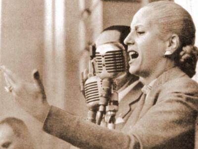 Acto y placa conmemorativa por los 100 años de María Eva Duarte de Perón