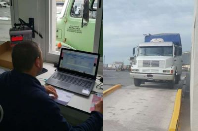 Se puso en marcha el nuevo sistema de pesaje en Puerto Quequén