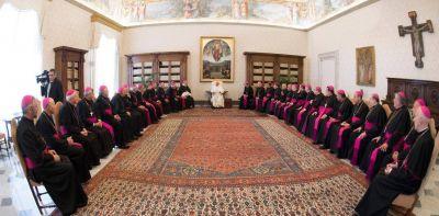 El Papa hablará del diálogo ante los obispos argentinos