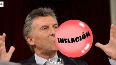 La inflación no detiene su marcha