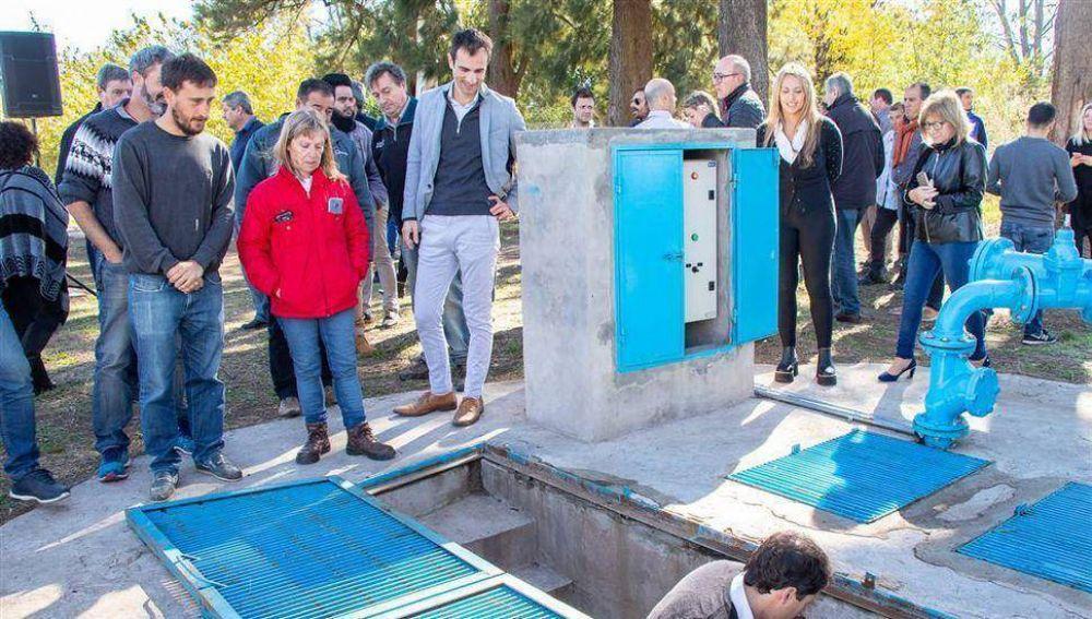 Después de 40 años el Parque Industrial cuenta con cloacas y agua potable