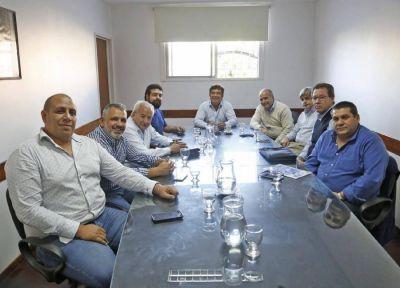 Espinoza se reunió con miembros de las 62 organizaciones peronistas de La Matanza