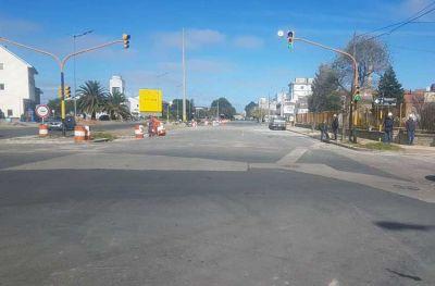Arroyo del Barco: liberan el tránsito en Avenida de los Trabajadores