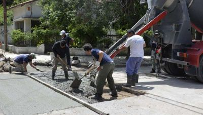 Entre mantenimiento de calles y barrido urbano, Obras Públicas avanza con demás trabajos