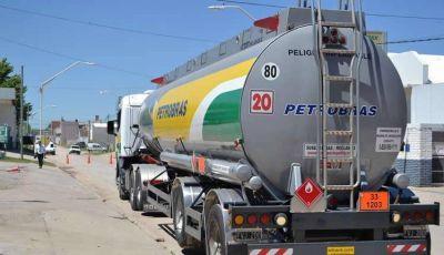 UTTC no cargará el viernes si no se le entrega combustible a camiones de PETROBRAS