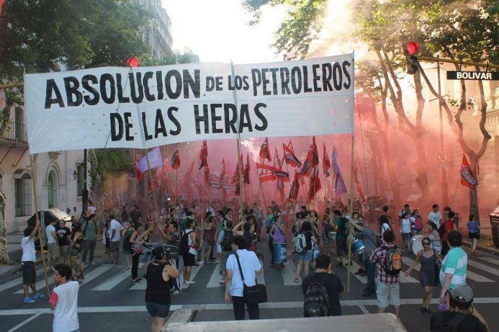 Absolvieron a los petroleros de Las Heras llevados a juicio por una huelga en 2014