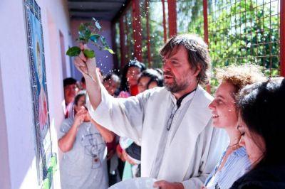 La Juventud Sindical recordó a Evita junto al Padre Pepe en La Cárcova