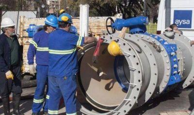 Verso de Macri: Cayeron 22% las obras de cloacas y agua potable