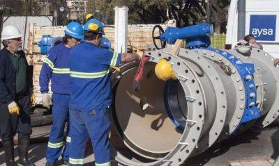 Con Macri, cayeron 22% las obras de cloacas y agua potable